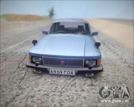 Volga 3102 pour GTA San Andreas laissé vue