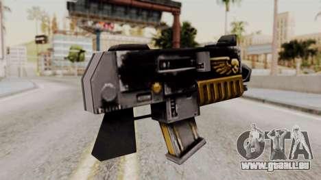Un bolter de Warhammer 40k pour GTA San Andreas deuxième écran