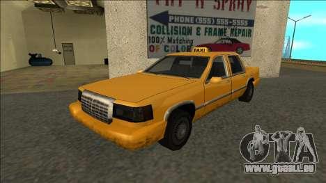 Stretch Sedan Taxi für GTA San Andreas