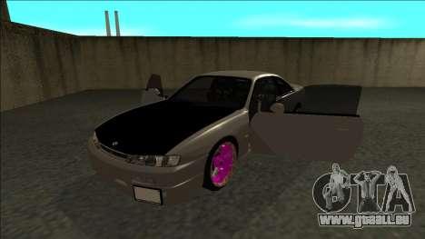 Nissan 200sx Drift JDM pour GTA San Andreas vue arrière