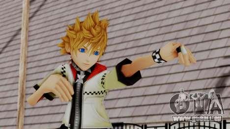 Kingdom Hearts 2 - Roxas Default pour GTA San Andreas