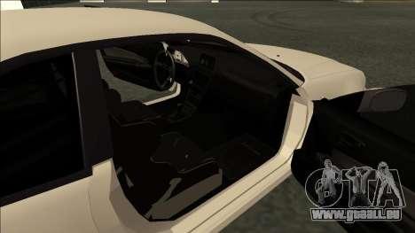 Nissan Skyline R34 Drift JDM pour GTA San Andreas sur la vue arrière gauche