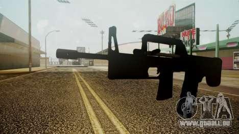 A-91 Battlefield 3 für GTA San Andreas zweiten Screenshot