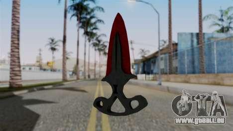 L'ombre de la Dague Sanglante des toiles d'araig pour GTA San Andreas