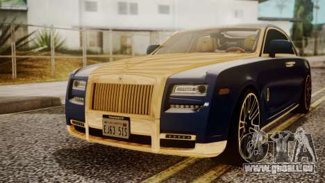 Rolls-Royce Ghost Mansory v2 pour GTA San Andreas