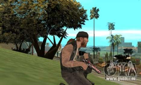 Deagle pour GTA San Andreas troisième écran