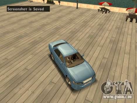 Toyota Mark II für GTA San Andreas Innenansicht