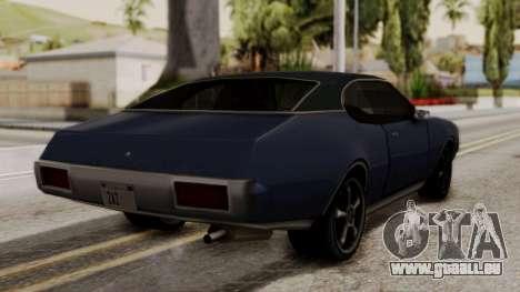 Clover Dub Edition pour GTA San Andreas laissé vue