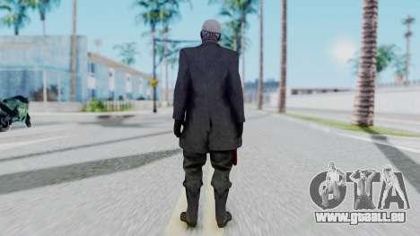 SkullFace Mask pour GTA San Andreas troisième écran