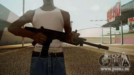 ACW-R Battlefield 3 pour GTA San Andreas