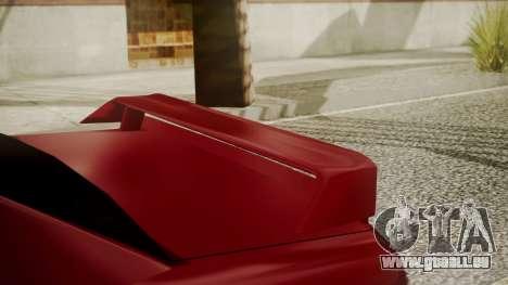 Elegy NR32 with Neon pour GTA San Andreas vue de droite