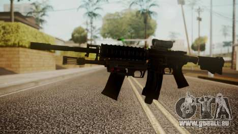 M4 with M26 Mass pour GTA San Andreas