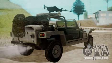 LY-T2021 pour GTA San Andreas laissé vue