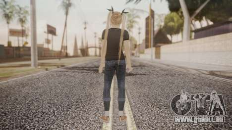 DoA 5 Ultimate - Marie Rose Punk pour GTA San Andreas troisième écran