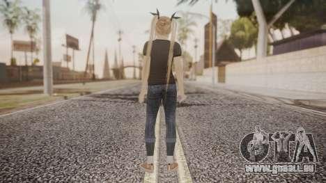 DoA 5 Ultimate - Marie Rose Punk für GTA San Andreas dritten Screenshot