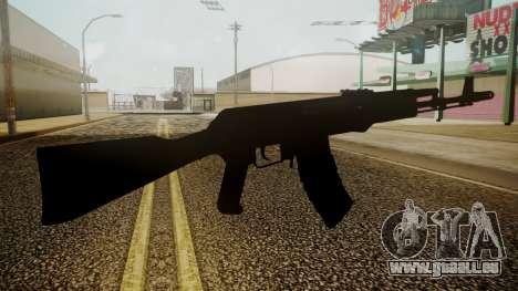 AK-74M Battlefield 3 pour GTA San Andreas troisième écran