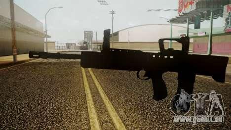 L85A2 Battlefield 3 für GTA San Andreas zweiten Screenshot