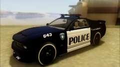 Schale Dominator Transformatoren Polizei Auto
