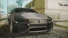 BMW M4 Coupe 2015 Carbon für GTA San Andreas