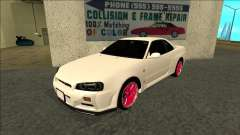 Nissan Skyline R34 Drift JDM pour GTA San Andreas