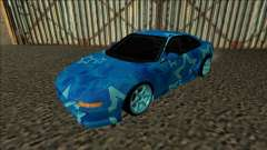 Toyota MR2 Drift Blue Star