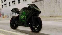 Bati Motorcycle Razer Gaming Edition