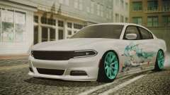 Dodge Charger RT 2015 Hatsune Miku pour GTA San Andreas