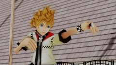 Kingdom Hearts 2 - Roxas Default