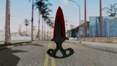 L'ombre de la Dague Sanglante des toiles d'araig