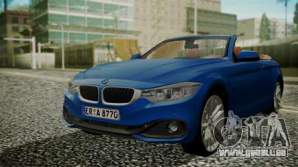 BMW M4 F32 Convertible 2014 pour GTA San Andreas