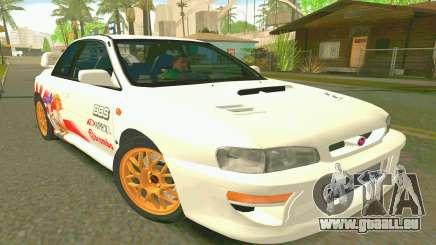 Subaru Impreza 22B STI - Itasha pour GTA San Andreas