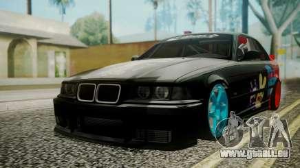 BMW M3 E36 Happy Drift Friends pour GTA San Andreas