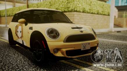 Mini Cooper Clubman 2011 K-ON Ritsu Itasha für GTA San Andreas