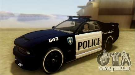 Insipide Dominateur Transformateurs De Voiture De Police pour GTA San Andreas