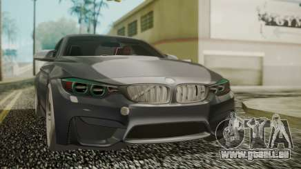 BMW M4 Coupe 2015 Carbon für GTA San Andreas