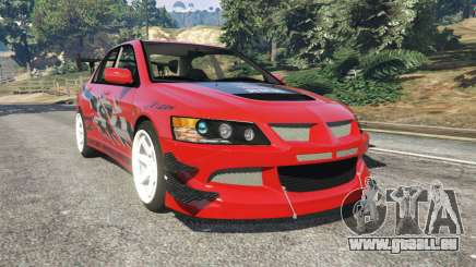 Mitsubishi Lancer Evolution IX FNF für GTA 5