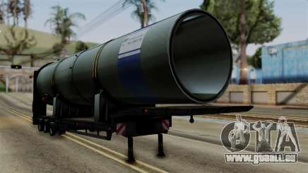 Overweight Trailer Black pour GTA San Andreas