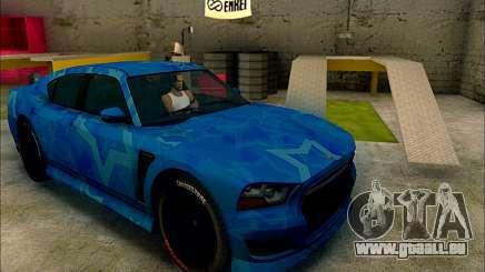 Bravado Buffalo Blue Star für GTA San Andreas