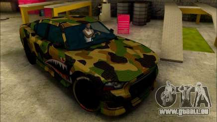 Bravado Buffalo Camo Shark Mouth für GTA San Andreas
