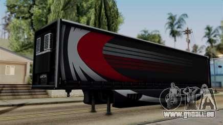 Aero Dynamic Trailer Stock pour GTA San Andreas