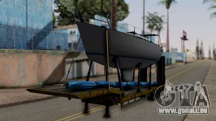 Overweight Trailer Yellow pour GTA San Andreas