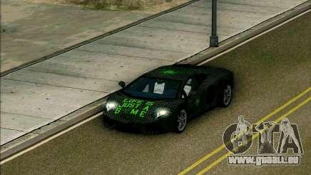 Lamborghini Aventador LP-700 Razer Gaming pour GTA San Andreas