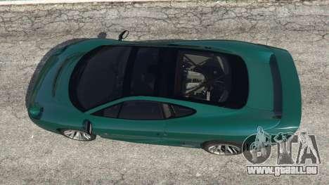 GTA 5 Jaguar XJ220 v0.8 vue arrière