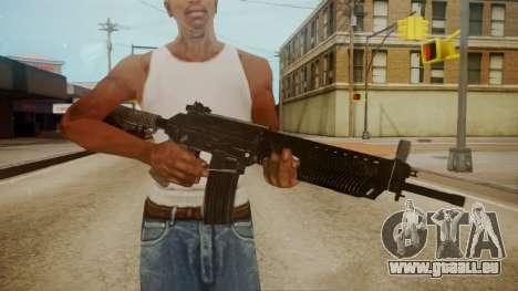 SIG-556 Patrol Rifle für GTA San Andreas