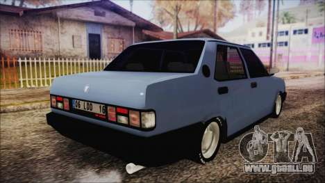 Tofas Sahin S pour GTA San Andreas sur la vue arrière gauche