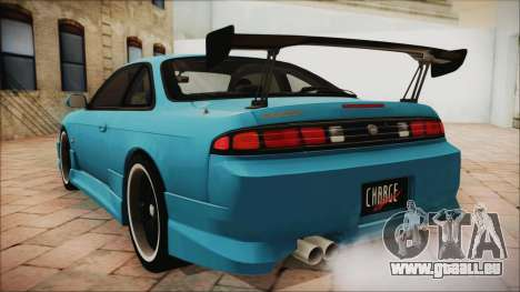 Nissan Silvia S14 Chargespeed Kantai Collection für GTA San Andreas linke Ansicht