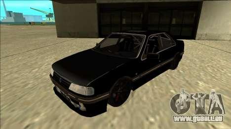 Peugeot 405 Drift pour GTA San Andreas