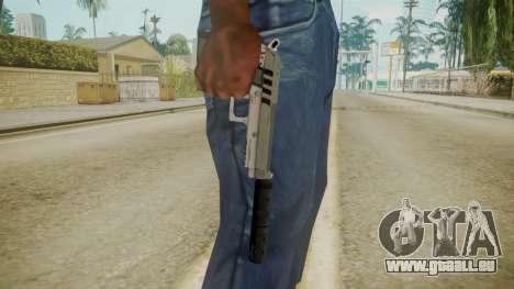 GTA 5 Silenced Pistol für GTA San Andreas dritten Screenshot