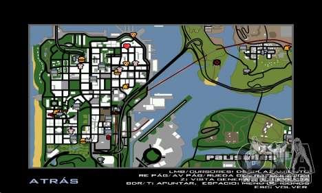 HD Radar Icons pour GTA San Andreas troisième écran