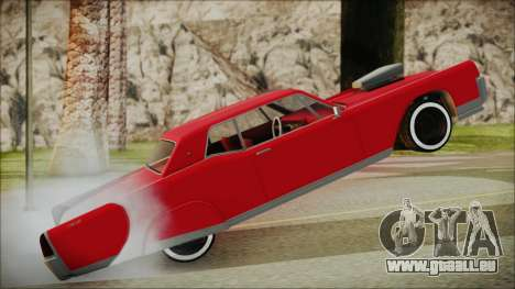GTA 5 Vapid Chino Bobble Version IVF für GTA San Andreas zurück linke Ansicht
